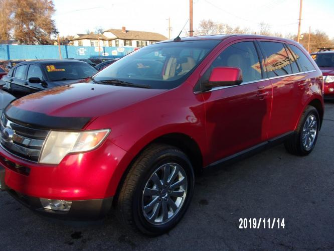 2010 Red Ford Edge (2FMDK3KC3AB) with an V6, 3.5 Liter engine, Automatic, 6-Spd w/Overdrive transmission, located at 1400 State Avenue, Kansas City, 66102, (913) 621-1206, 39.116623, -94.644836 - Photo #1